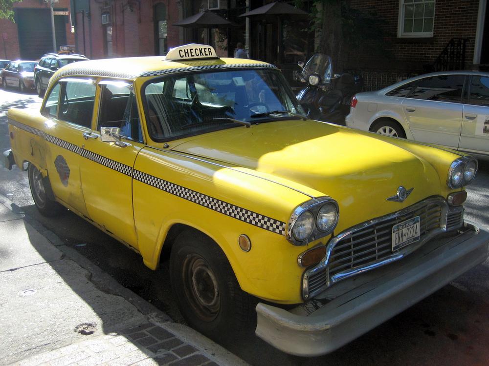 Checker Cab - Lookin' good!