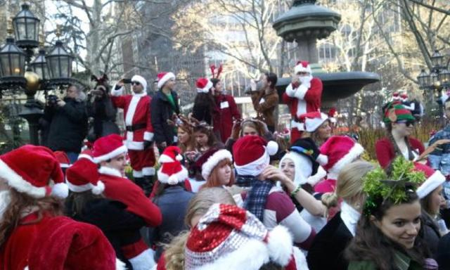 Christmas Cheer in City Hall Park