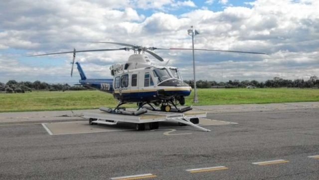 NYPD's Aviation 22 helicopter