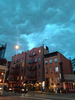 Derecho clouds over Seventh and West 10th