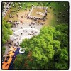 Bryant Park from above