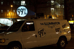 Occupy Wall Street invention The Illuminator will be projecting video