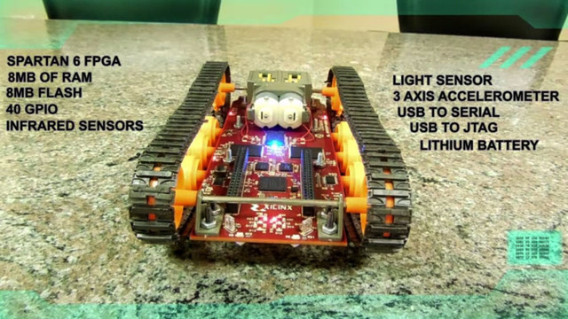 The Logitraxx Robot Runs Without Software or a Processor