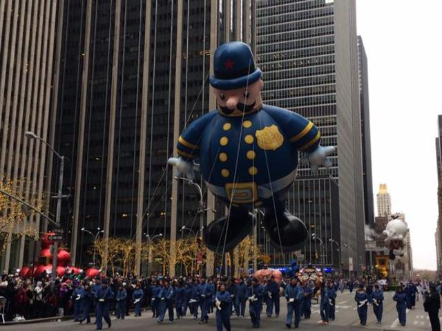 Live Photos From The 2014 Macy S Thanksgiving Day Parade