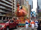Tom Turkey begins the parade