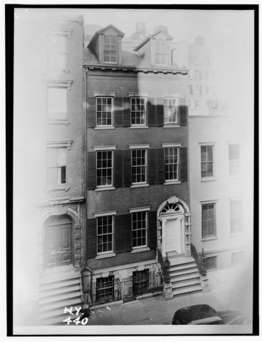 Merchant's House Museum building in 1936
