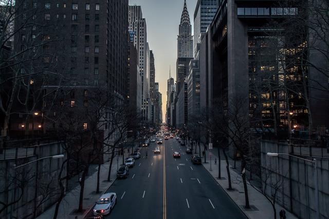 Sunset on 42nd Street