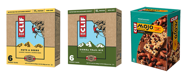 Recalled Clif Bars