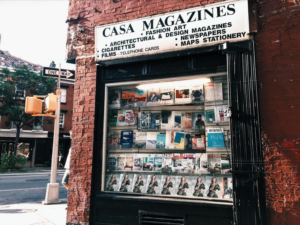 Casa Magazines. New York, NY.