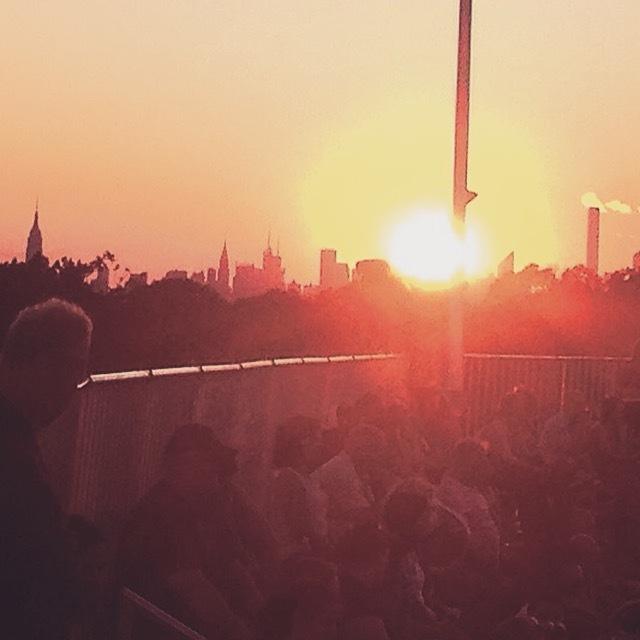 Forest Hills sunset