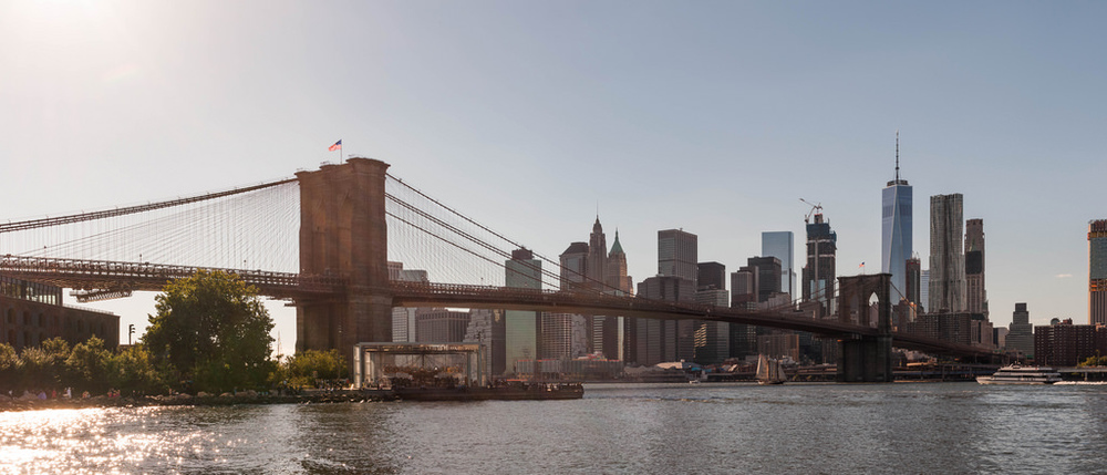 Brooklyn Bridge from Dumbo - Pano