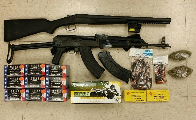 Forged Plates and an Assault Rifle in Washington Heights