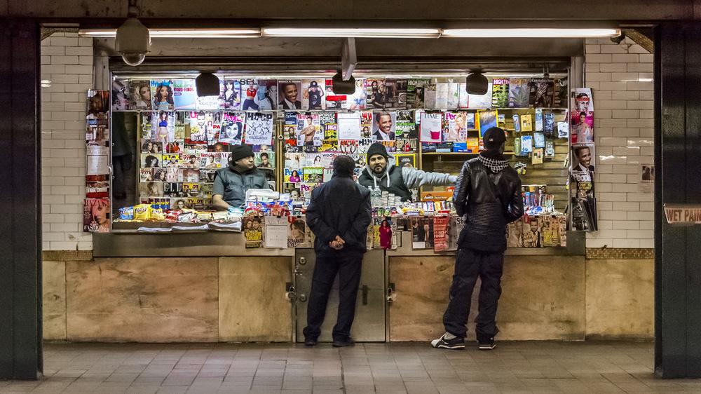 Subway kiosk
