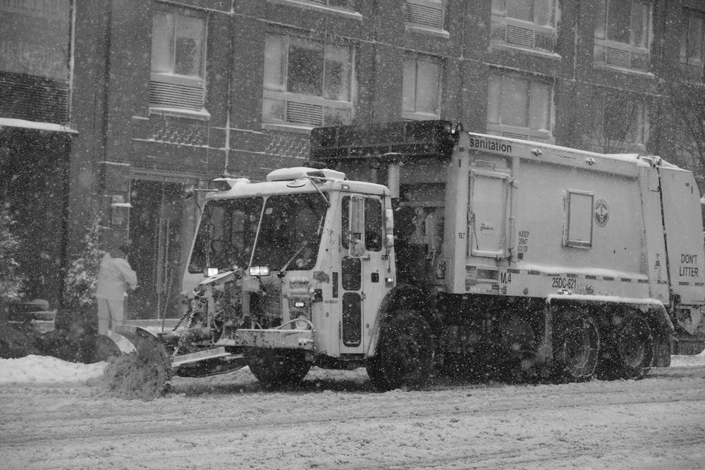 NYC Plow on 23rd Street