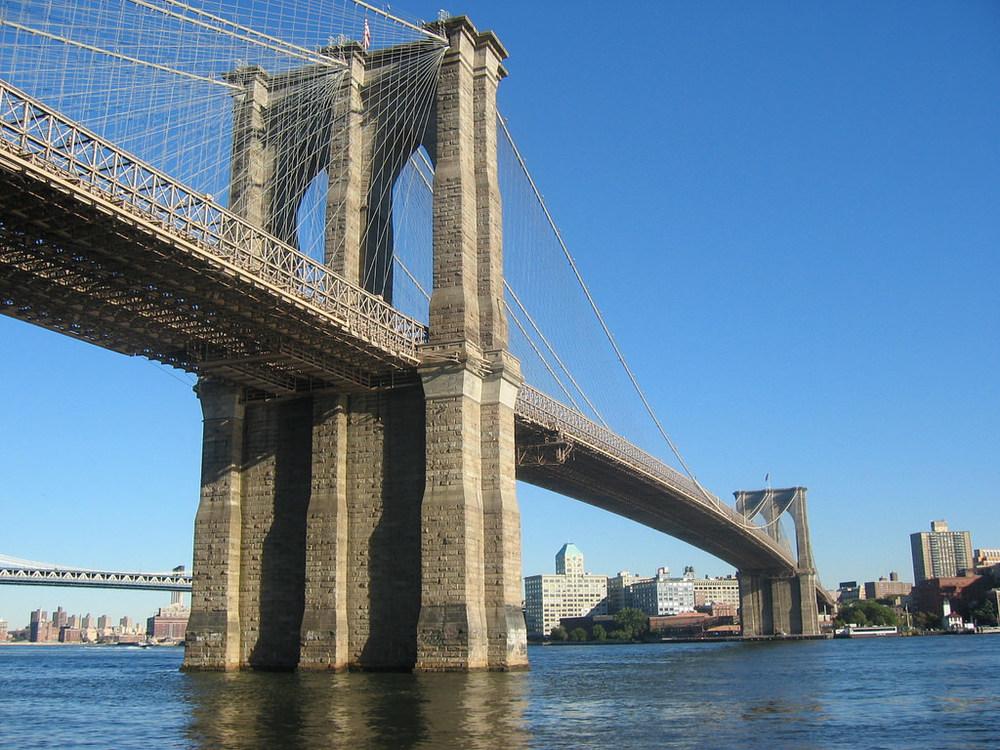 USA- New York-Brooklyn Bridge 1