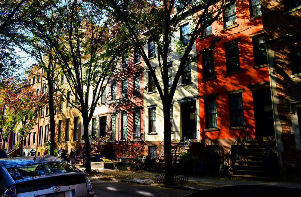 Colours and Shadows of Brooklyn Heights