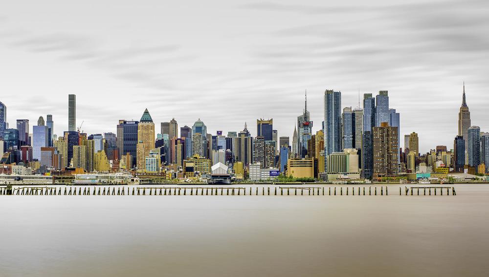 New York City Skyline - The Big Apple as viewed from New Jersey | 170430-7659-jikatu