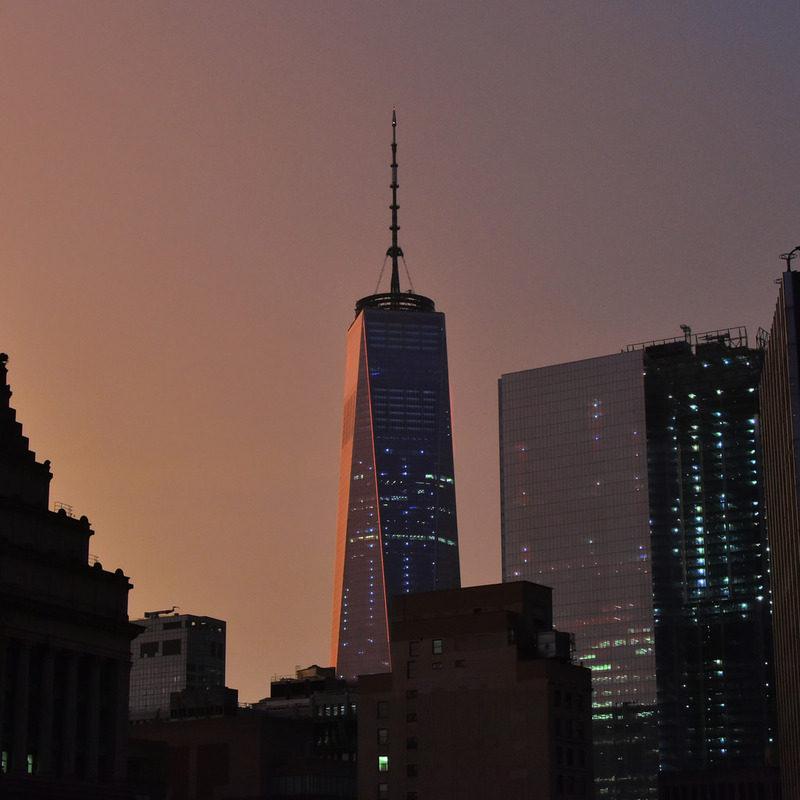 WTC, nightfall