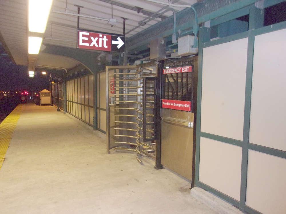 Beach 60th station in Rockaway