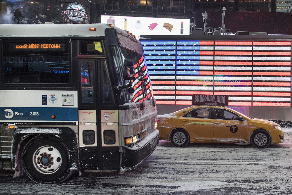 MTA New York City Transit Prepares for Winter Storm
