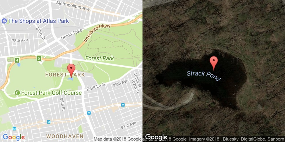 Strack Pond, Queens
