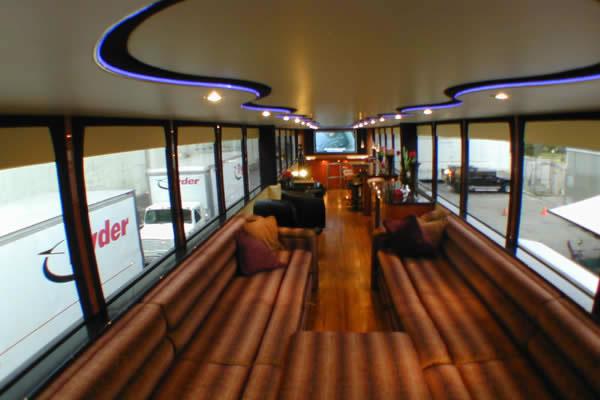 Whats It Like Inside Will Smiths Double Decker Luxury Trailer