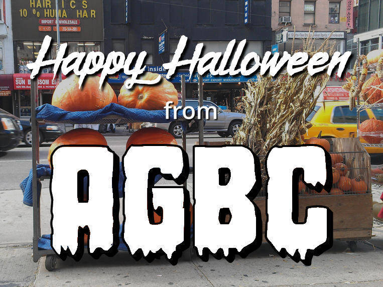 Happy Halloween from AGBC!